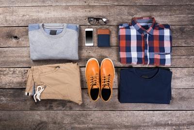 男性服をレンタル