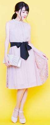 Rcawaiiドレス薄ピンク