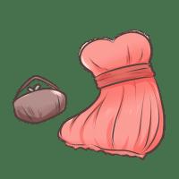 レンタル用ドレスセット
