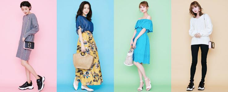 アールカワイイの韓国ファッション例